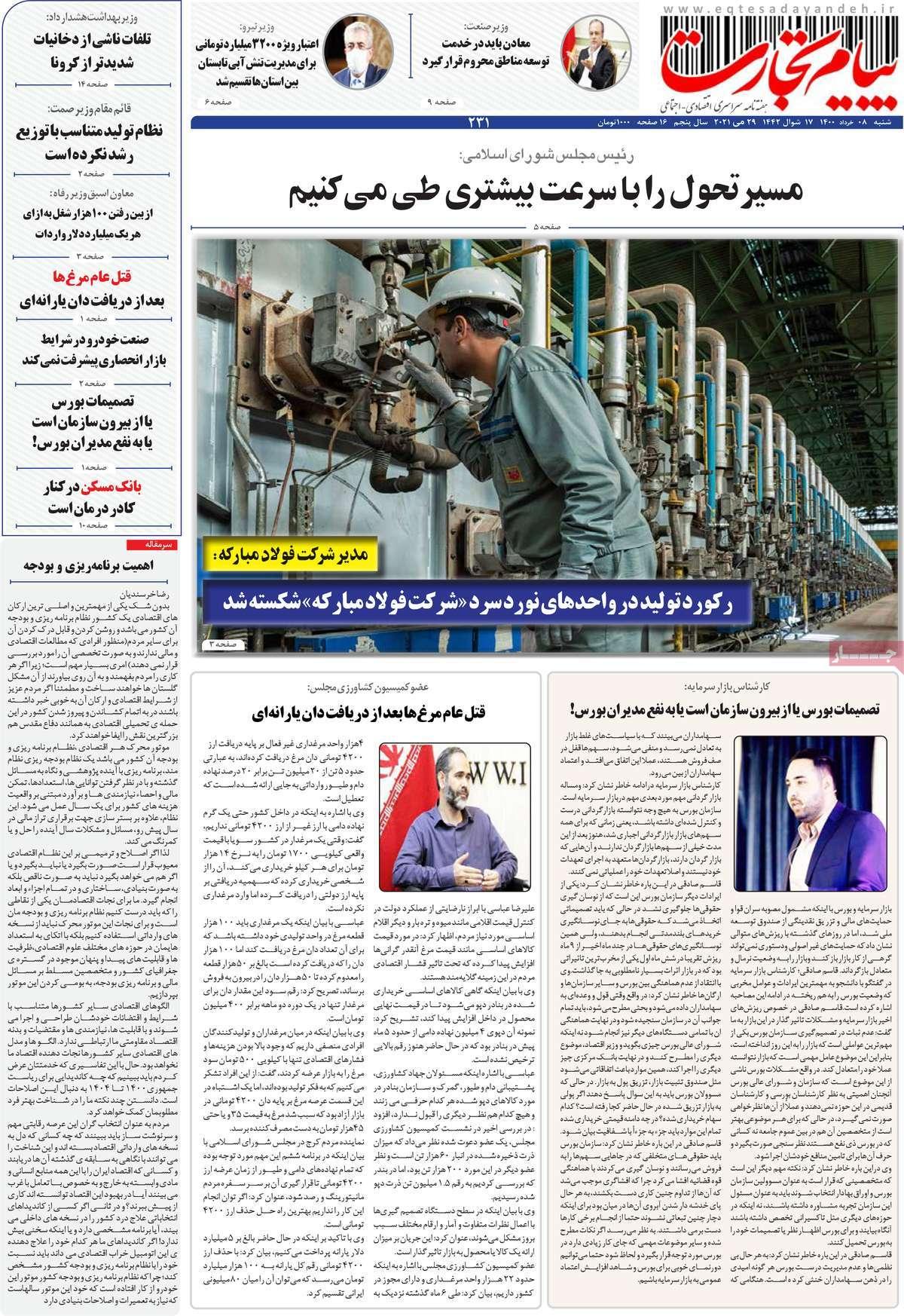 مجله پیام تجارت